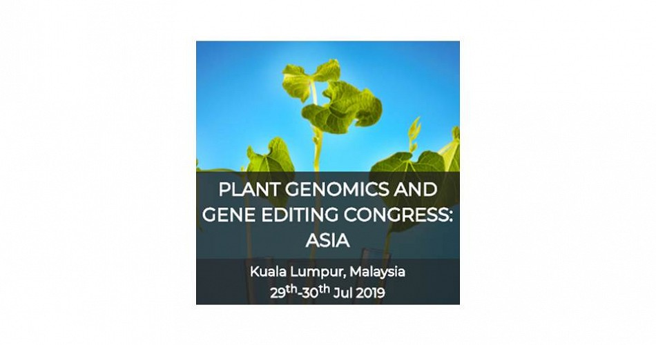 Plant Genomics and Gene Editing Congress: ASIA